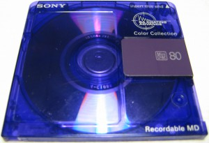 Sony MD Colours 74 Purple
