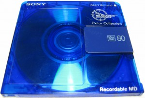 Sony MD Colours 80 Blue