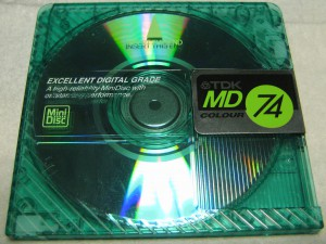 TDK MD Colour 74 Green