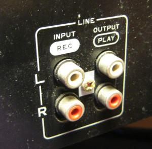 Rear Inputs/Outputs