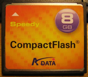 A-Data Speedy 8Gb CF