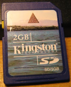 Kingston 2Gb SDSC