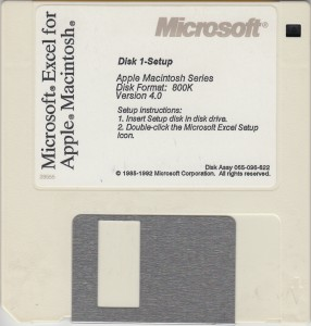 MS Excel4 for Mac D1