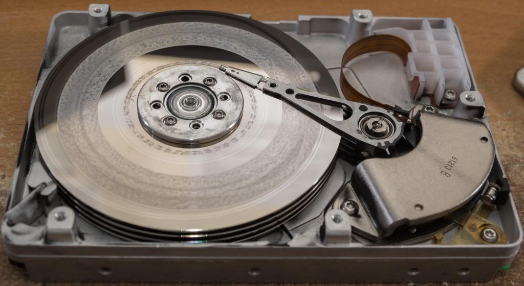 WD Enterprise 4360 Platter Damage