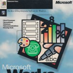 Tech Flashback: Microsoft Works (v4.0a) for Windows 95, PowerPoint v4.0 Upgrade