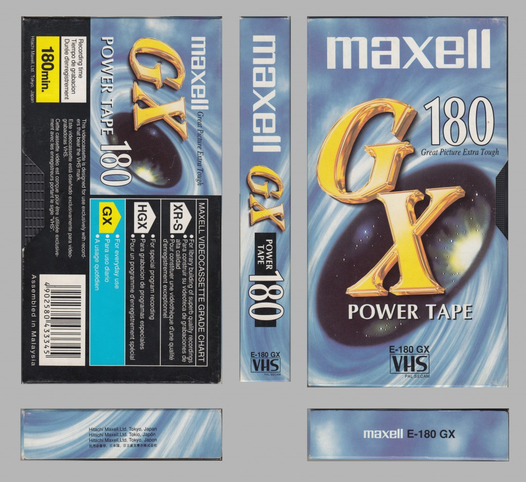 Maxell GX New E180