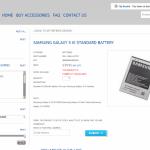 Genuinely REAL: Samsung Galaxy SIII Batteries (EB-L1G6LLU)