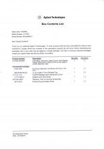 Box-Contents-List