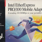 Tech Flashback: Intel EtherExpress PRO/100 Mobile Adapter
