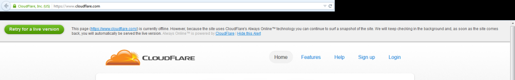 cloudflare-dead